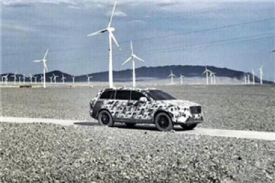 整車極端環境測試?車和家SUV曝光全新諜照