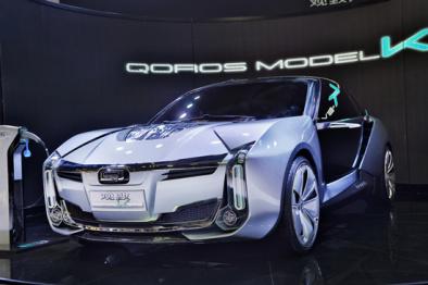 """Model K-EV惊艳亮相  观致汽车""""两栖战略""""加速推进"""