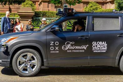 令人意外:加州批准Zoox为首个可载客无人驾驶服务商