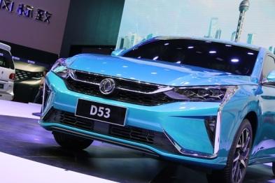 东风风神:国潮新秀D53的新战役丨上海车展
