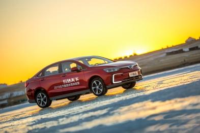 在-30℃的海拉尔试驾北汽纯电EU5是怎样一种体验?