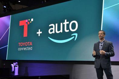 丰田、雷克萨斯今年开始在旗下车型整合亚马逊Alexa