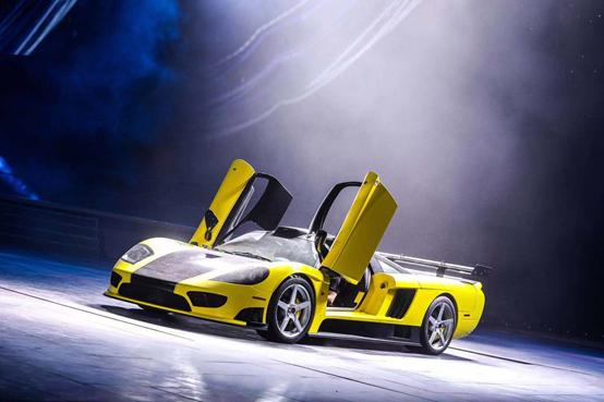 赛麟品牌旗舰车型赛麟S7全新勒芒版亮相