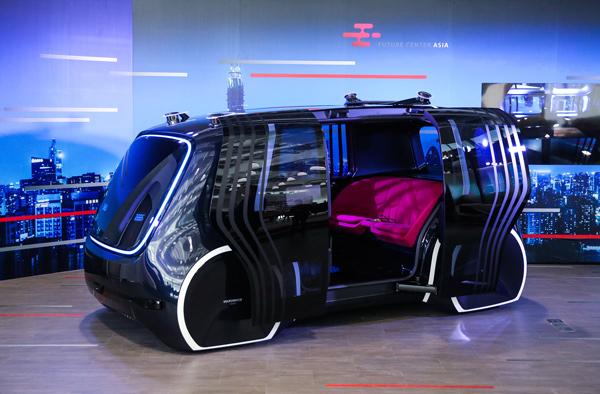 大众SEDRIC自动驾驶纯电动概念车