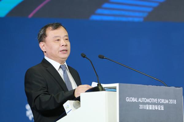 中国国际贸易促进会、汽车行业委员会会长、中国汽车行业商会会长王侠