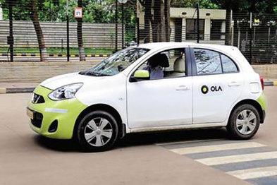 印度打车服务Ola拟融资6亿美元,竞争Uber