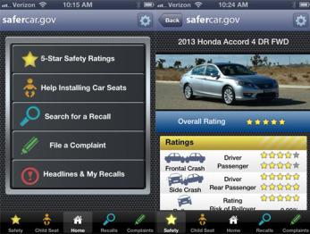 美国NHTSA把关汽车安全,推出便民应用