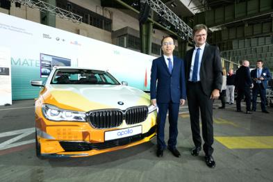 宝马百度再牵手,在华共同推进自动驾驶技术发展
