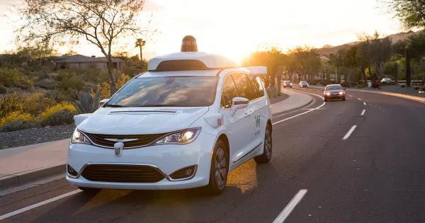 Waymo Chrysler Pacifica minivans自动驾驶车队