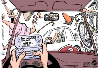 拯救开车分心:一场驾驶员注意力争夺战