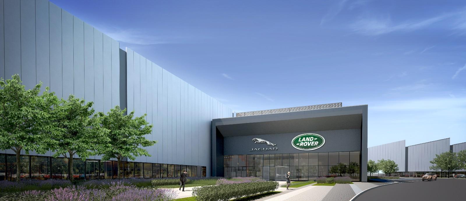 捷豹路虎英国发动机工厂
