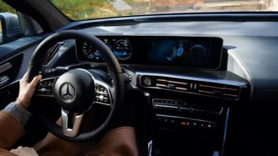奔驰 EQC 车机评测:带着镣铐起舞