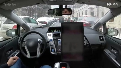 Yandex自动驾驶汽车在莫斯科开展冬季测试