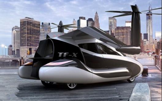 吉利即将量产的太力飞行汽车