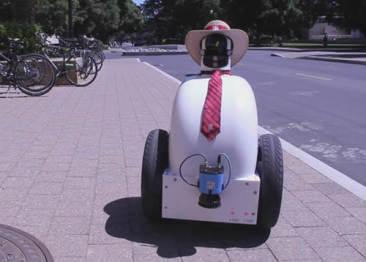 斯坦福研究人员研制出能理解人行道复杂路况的机器人
