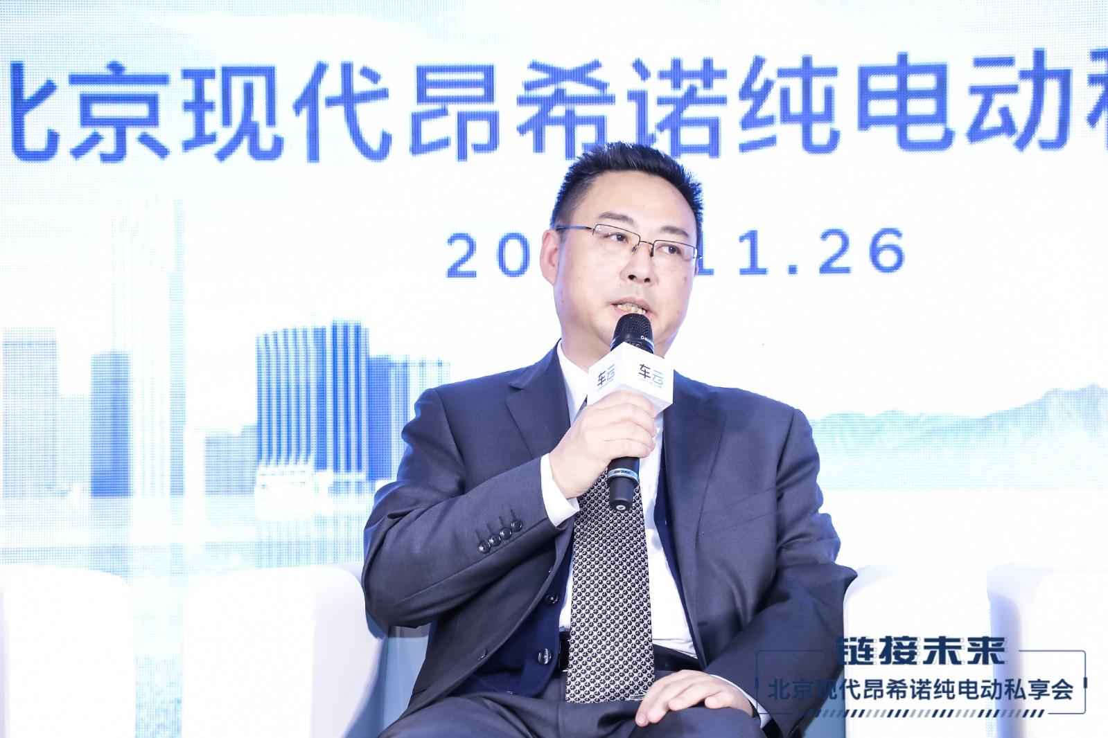 北京现代副总经理、技术中心本部长徐爱民