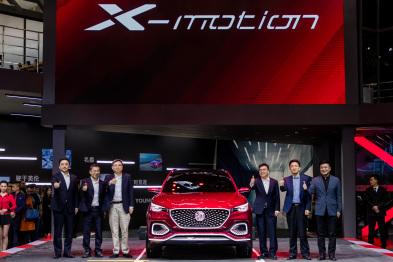MG X-motion Concept于北京车展全球首秀 ,今年将量产