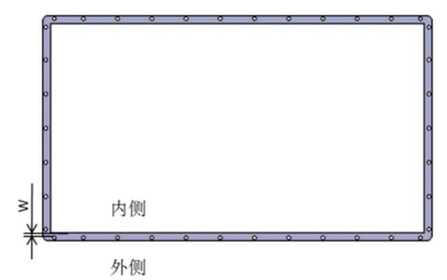 图3 电池系统结构密封设计