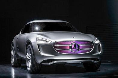 奔驰发布小型跨界概念车G-Code:车漆发电变身移动太阳能