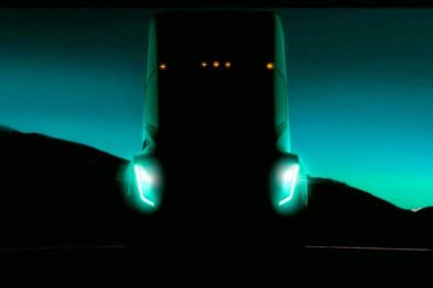 无后视镜,马斯克曝光特斯拉首款电动卡车正面照