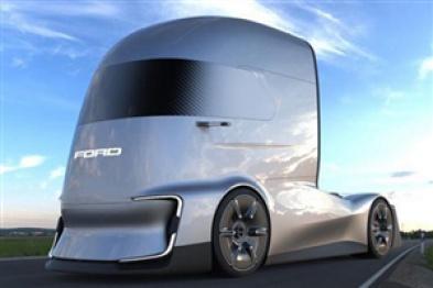 福特发布半自动驾驶概念卡车,灵感源自钢铁侠头盔