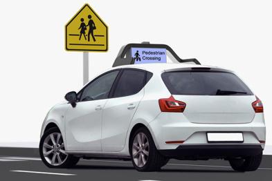 Drive.ai正在研究自动驾驶汽车与车外交互