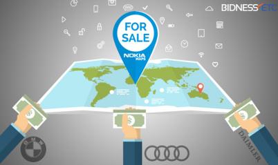 德系车企联盟提前完成HERE地图业务收购,诺基亚净收益超25亿欧元