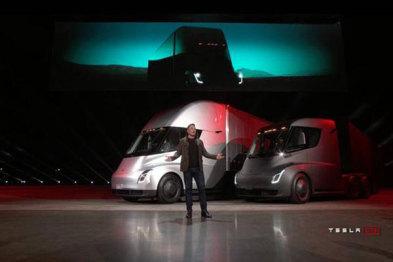特斯拉电动卡车售价公布,100万元起
