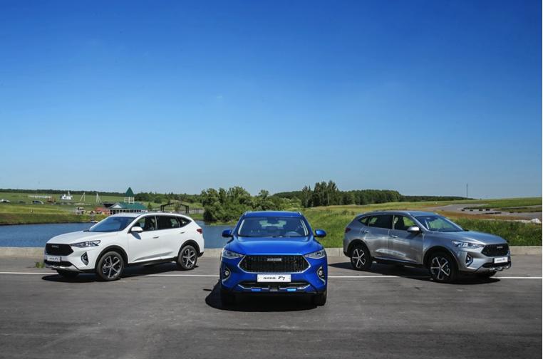 中国品牌首款全球车哈弗F7已于海外上市