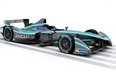 捷豹携纯电动赛车参加Formula E方程式比赛