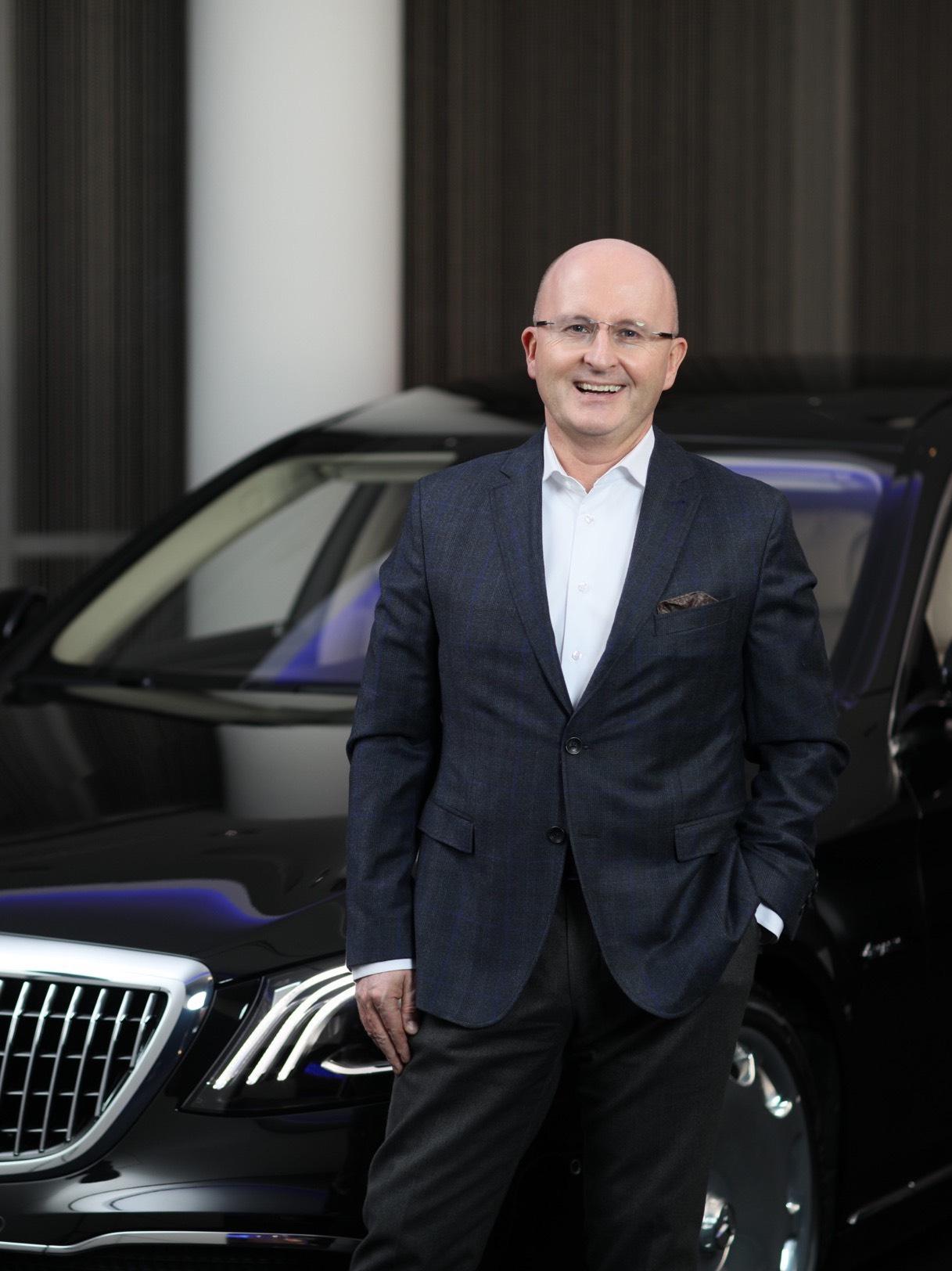 杨铭(Jan Madeja)先生将接任北京梅赛德斯-奔驰销售服务有限公司总裁兼首席执行官