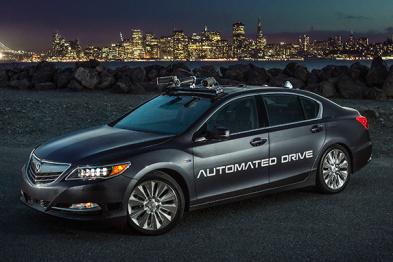 讴歌发布第二代自动驾驶汽车