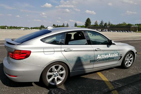 宝马限定区域全自动驾驶原型车