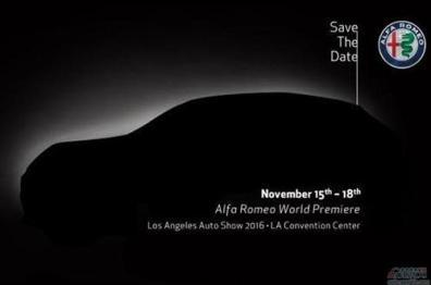 阿尔法首款SUV Stelvio亮相洛杉矶车展