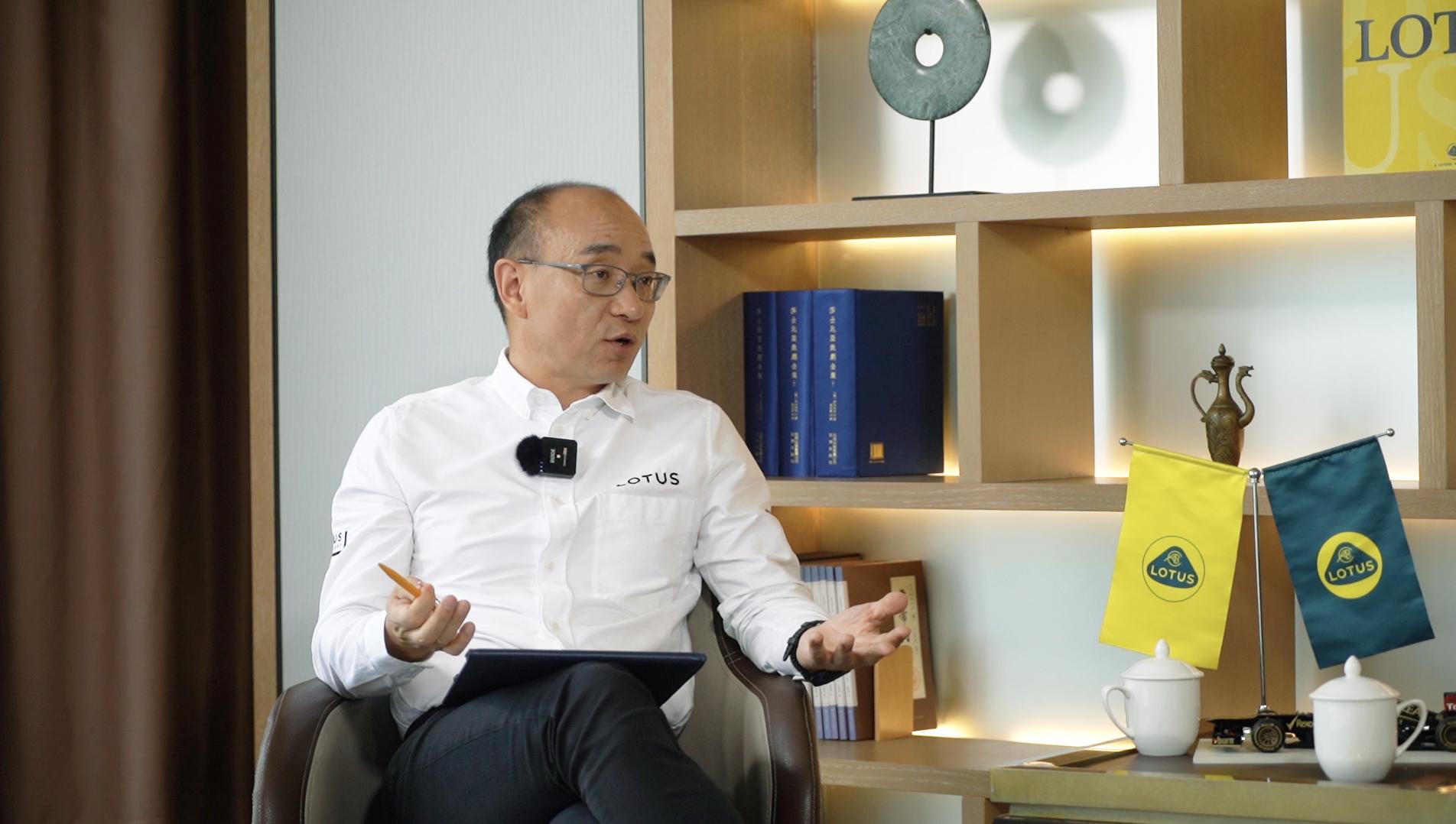 路特斯集团CEO 冯擎峰