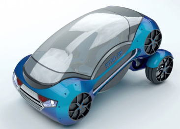 可以折叠的自动驾驶汽车,你有钱都买不到