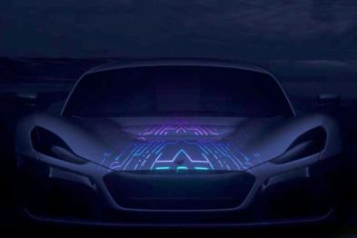 性能提升,Rimac新超跑将亮相日内瓦车展