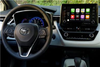 始于2019款Avalon,丰田汽车将陆续搭载苹果CarPlay