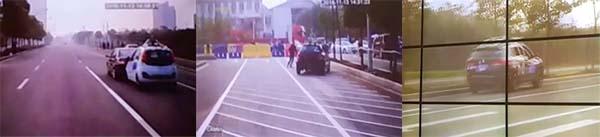 城区道路比赛期间的一些事故