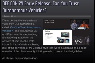 360与Security Innovation组建自动驾驶安全实验室