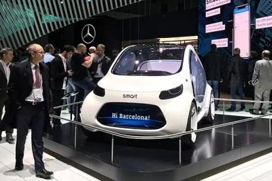 清点MWC汽车科技:华为宝马争秀无人车,疾驰搭台讲区块链