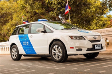 比亚迪百台e6交付曼谷,签下千辆电动车订单