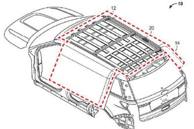 福特推车顶安全气囊,侧翻时保护乘客头部