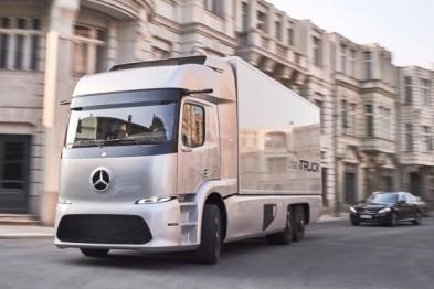 梅赛德斯正式推出重型电动卡车Urban eTruck
