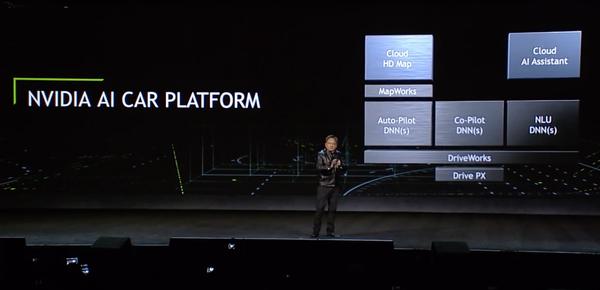 英伟达人工智能汽车平台架构