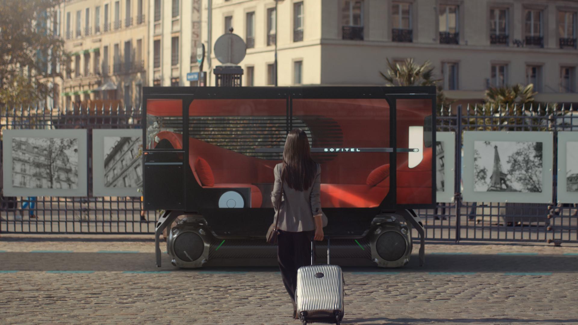 """""""滑板+吊舱"""",雪铁龙发布未来城市交通新方案"""