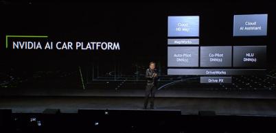 AI汽车生态日趋成熟,英伟达要通吃自动驾驶上下游产业链| CES 2017