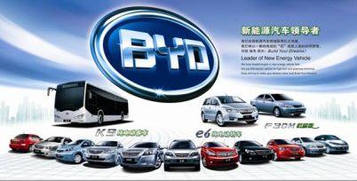 比亚迪中标深圳新能源公交车采购项目