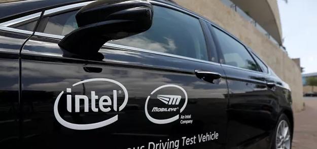 Mobileye与英特尔自动驾驶测试车