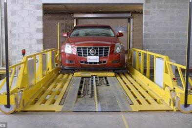 自动化智能停车系统帮你停车,再也不用抢车位啦!